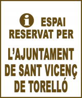 Sant Vicenç de Torelló - Anunci no disponible
