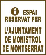 Monistrol de Montserrat - Anunci no disponible