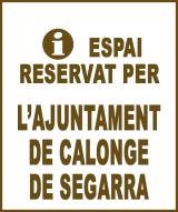 Calonge de Segarra - Anunci no disponible