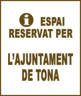Tona - Anunci no disponible
