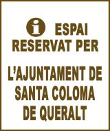 Santa Coloma de Queralt - Anunci no disponible