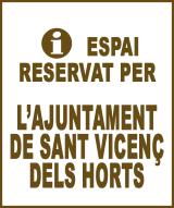 Sant Vicenç dels Horts - Anunci no disponible