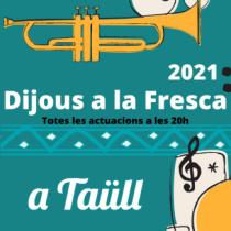 Vall de Boí - Dijous a la Fresca a Taüll 2021