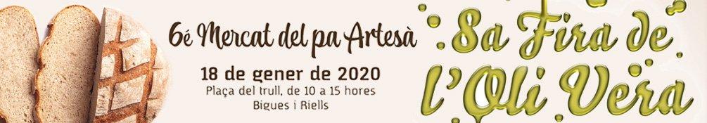 Bigues i Riells - Fira de l'Oli Vera i Mercat del Pa 2020