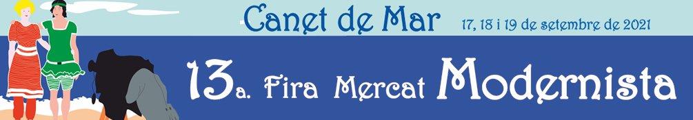 Canet de Mar - Fira Mercat Modernista 2021